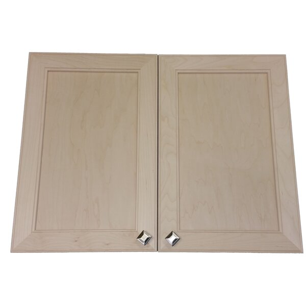 Village 31 W x 25.5 H Recessed Cabinet by WG Wood Products