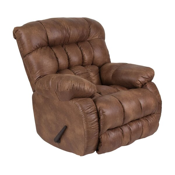 Mcevoy Breathable Comfort Padre Manual Rocker Recliner [Red Barrel Studio]