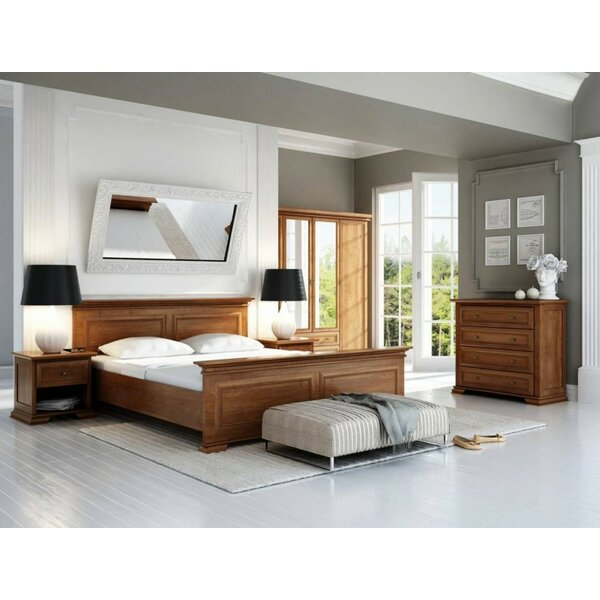 Eilene Queen Platform Bed with Mattress by Charlton Home