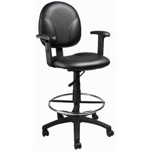 Wyndmoor Mid-Back Drafting Chair by Wrought Studio