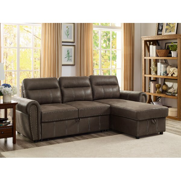 Ty Reversible Sleeper Sectional by Wrought Studio