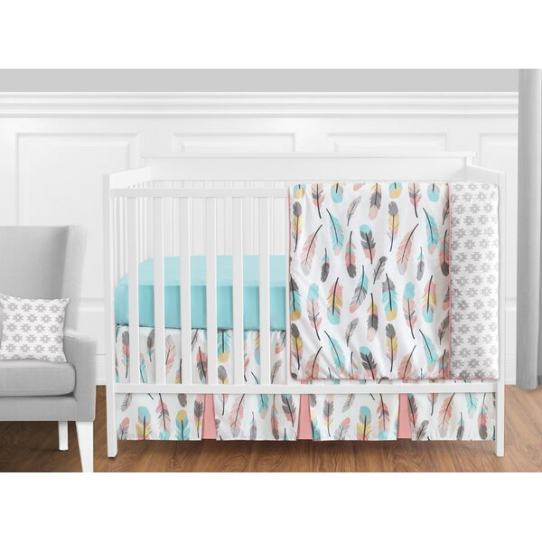 Feather 11 Piece Crib Bedding Set by Sweet Jojo Designs
