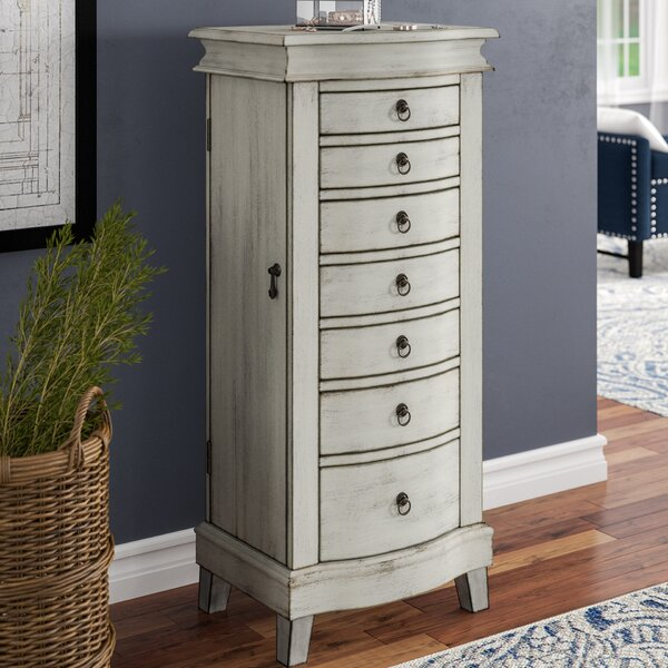 Brookside Free Standing Jewelry Armoire by Darby Home Co