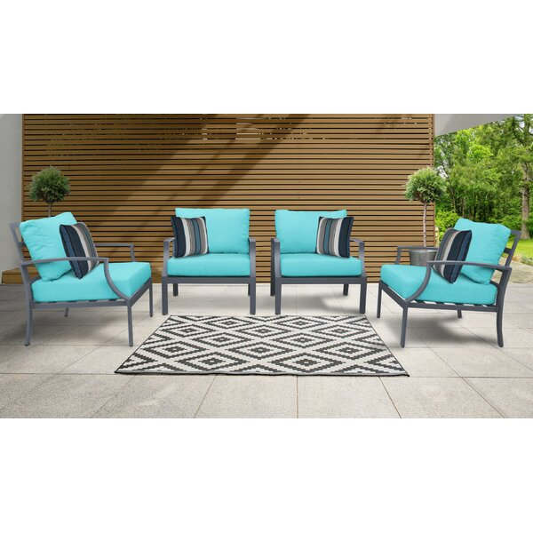 Benner Patio Chair With Cushions (Set Of 4) By Ivy Bronx