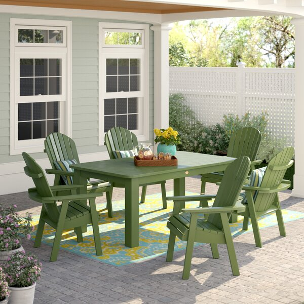 Anette 7 Piece Dining Set by Sol 72 Outdoor