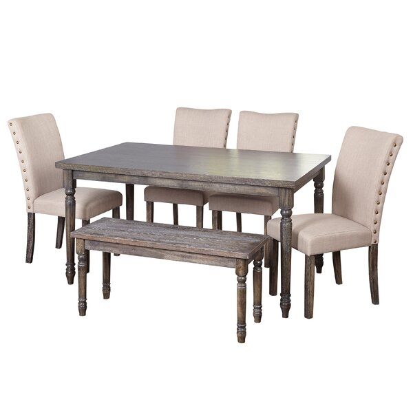 Enya Parsons 6 Piece Dining Set by One Allium Way