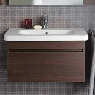 Comparison DuraStyle 23'' Single Wall Mounted Vanity Base Only ByDuravit