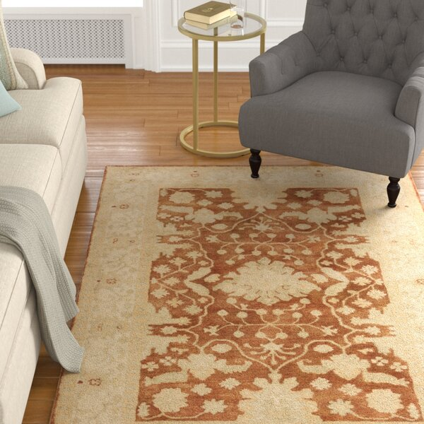 Raffles Hand Tufted Brown/Beige Area Rug by Astoria Grand