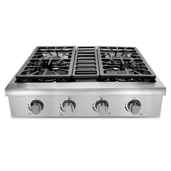 Professional 30 Gas Cooktop with 4 Burners by Thor Kitchen