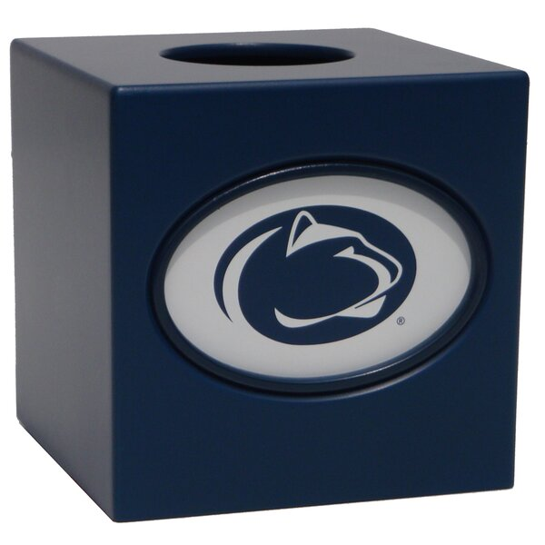 NCAA Tissue Box Cover by Fan Creations