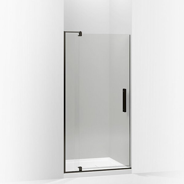 Revel 36'' x 74'' Pivot Shower Door with CleanCoat® Technology by Kohler