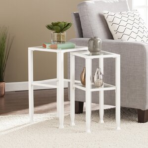 Casas 2 Piece Nesting Table by Orren Ellis