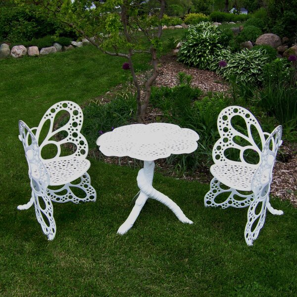 Whaley 3 Piece Bistro Set by Gracie Oaks