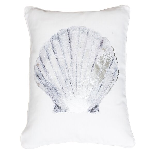 Crump Shell Lumbar Pillow by Rosecliff Heights