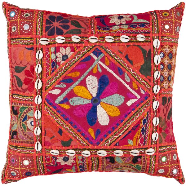 Anwar Throw Pillow Cover by Bungalow Rose