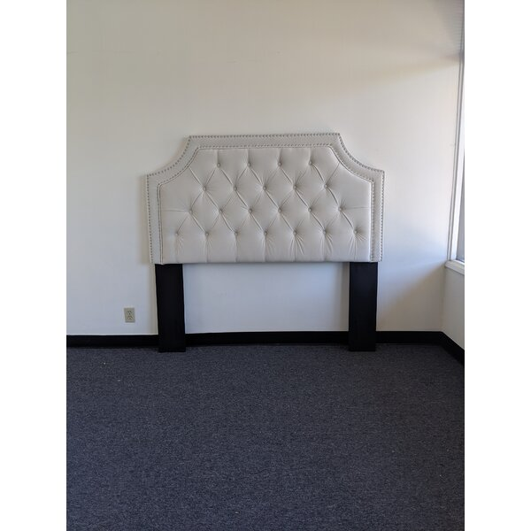 Devitt Upholstered Panel Headboard and Tufted Bench by Darby Home Co