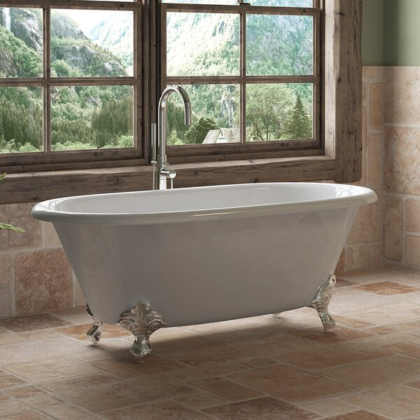 60 x 30 Clawfoot Soaking Bathtub by Cambridge Plumbing
