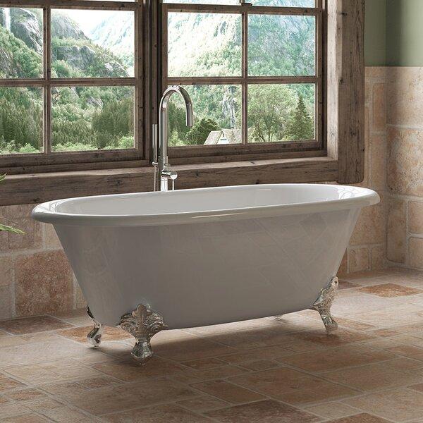 60 x 30 Clawfoot Soaking Bathtub by Cambridge Plumbing