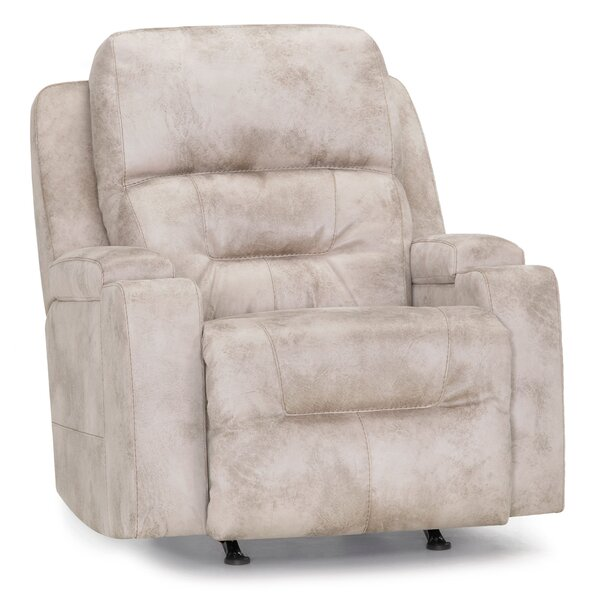 Melania Power Rocker Recliner Red Barrel Studio W002014844