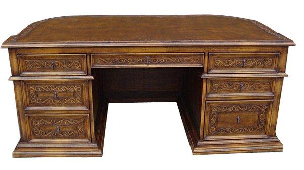 Lukasz Solid Wood Executive Desk