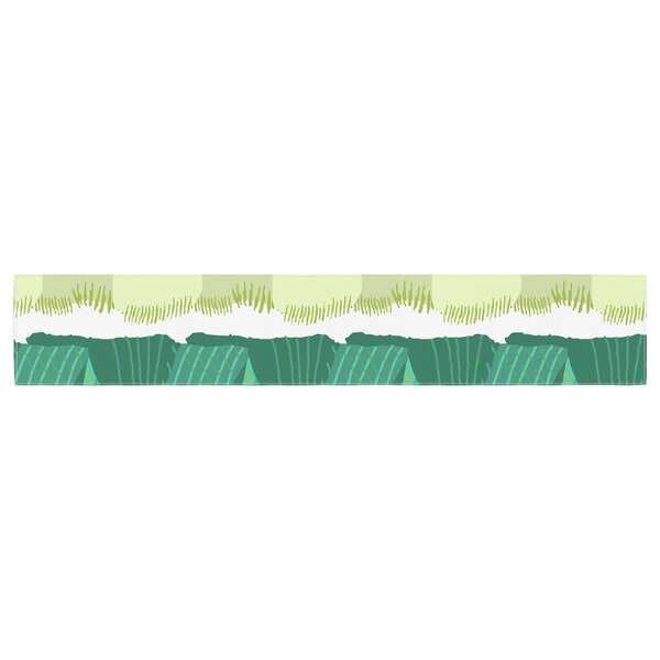 Laura Nicholson Leeks Table Runner by East Urban Home