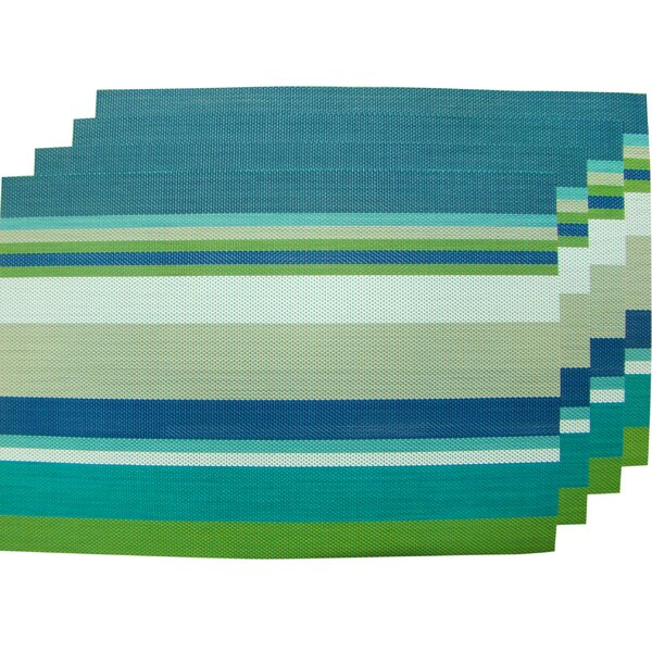 Woven Placemat (Set of 4) by Textiles Plus Inc.