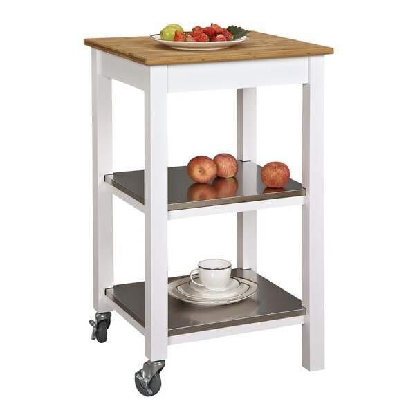 Ridenhour Kitchen Cart by Breakwater Bay