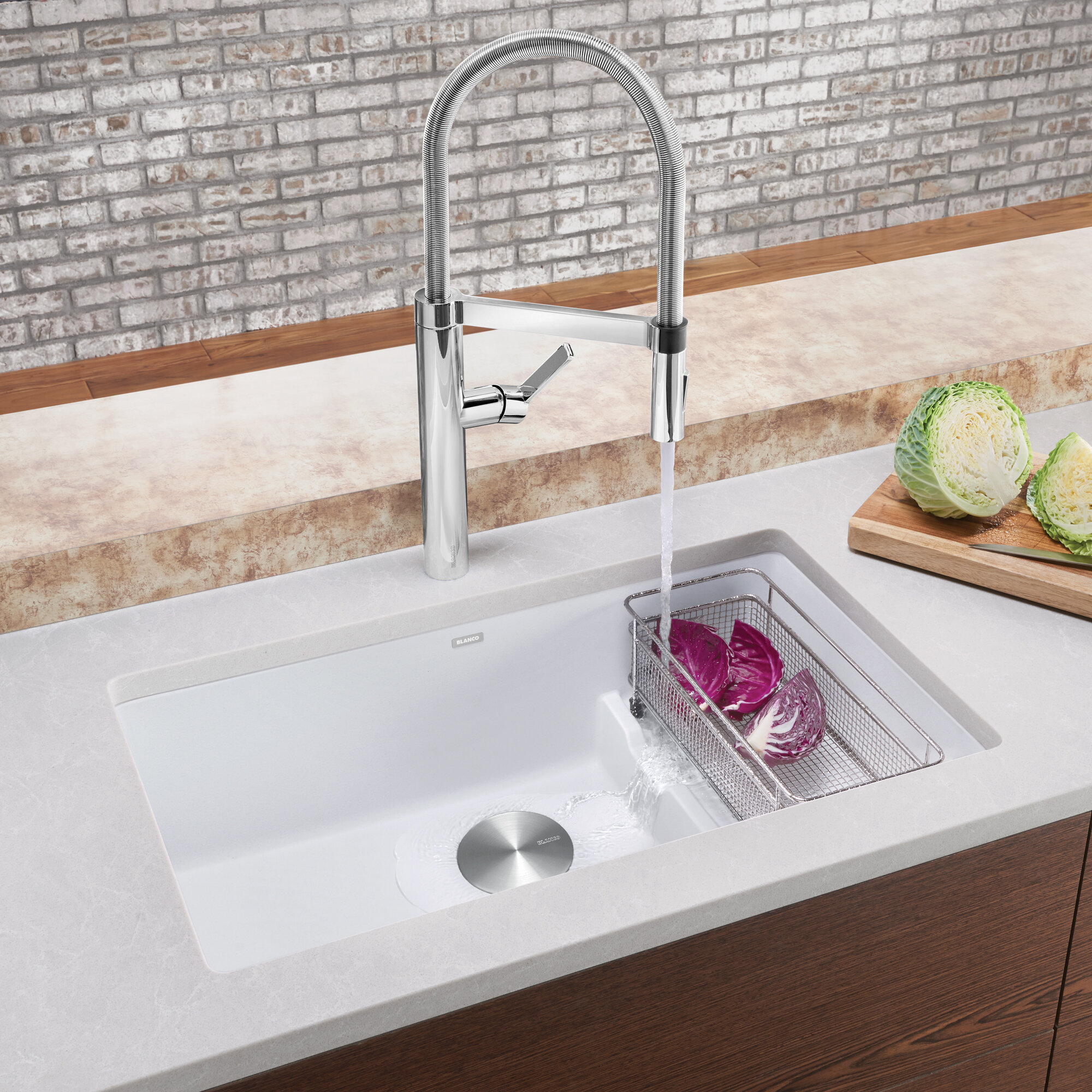 Blanco Precis 29 L X 18 W Undermount Kitchen Sink Reviews Wayfair