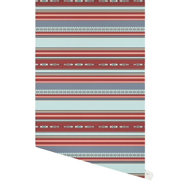 Bomar 48 L x 24 W Paintable Peel and Stick Wallpaper Panel by Union Rustic