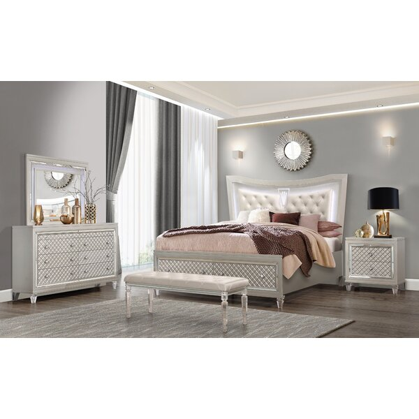 Paris Standard Configurable Bedroom Set by Rosdorf Park