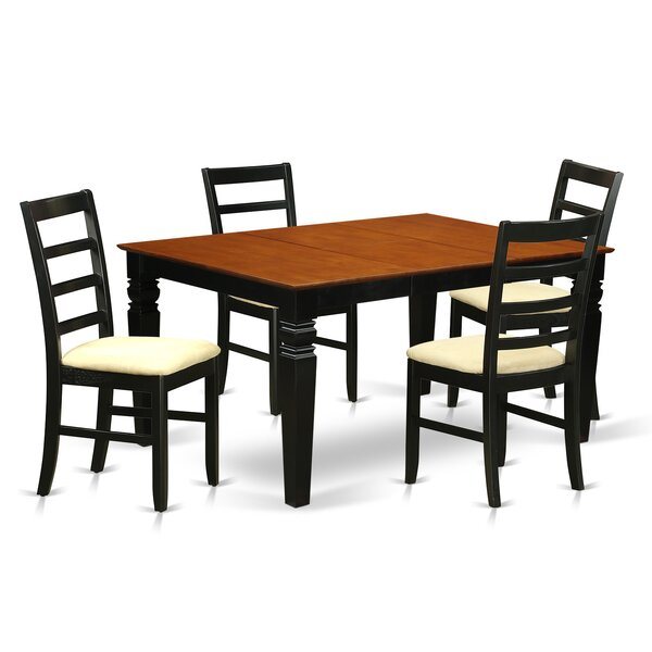Celina 5 Piece Dining Set By Red Barrel Studio 2019 Coupon