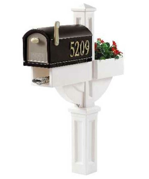 MailMaster Post Mounted Mailbox by Step2