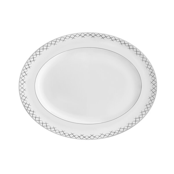 Lismore Pops Fine Bone China Oval Platter by Waterford