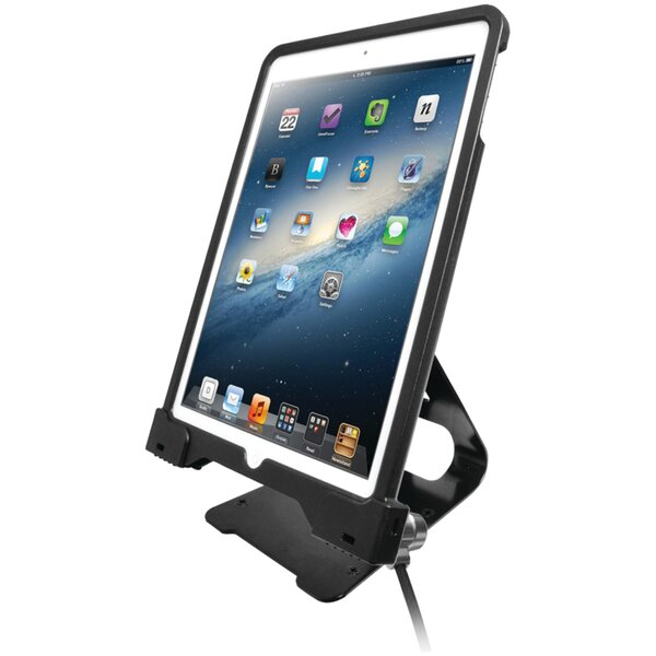Antitheft Security Case with Stand for iPad Air Mounting System by CTA Digital