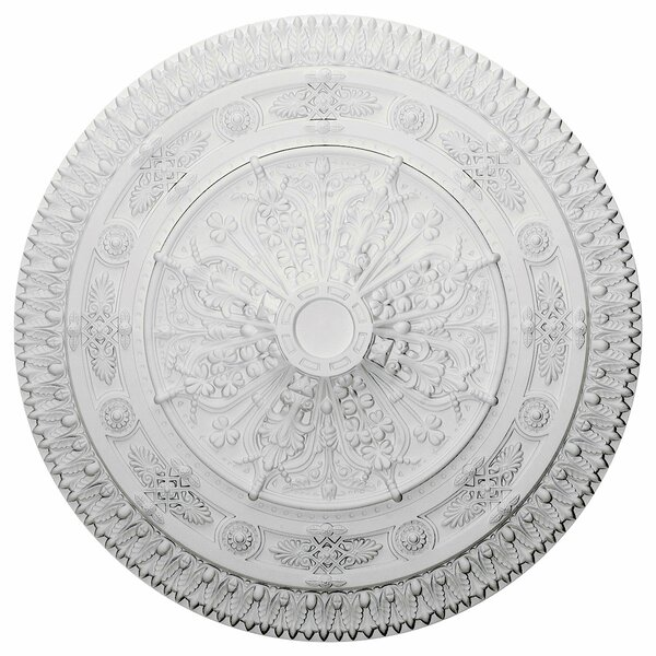 Naple 37 1/2H x 37 1/2W x 3 3/8D Ceiling Medallion by Ekena Millwork