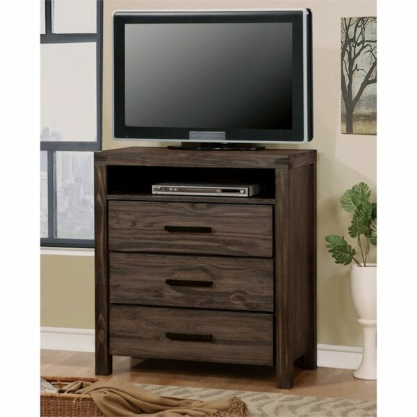 Carillo Solid Wood TV Stand For TVs Up To 40