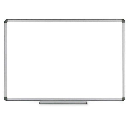 Wall Mounted Whiteboard, 24 x 36 by Bi-silque Visu