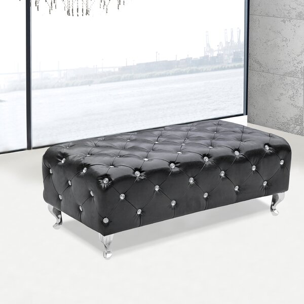 Upholstered Bench by Fine Mod Imports