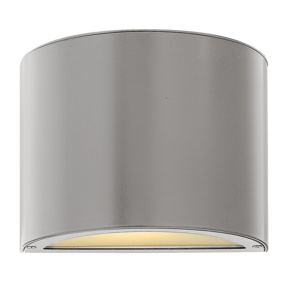 Danny 1-Light Outdoor Sconce by Wade Logan