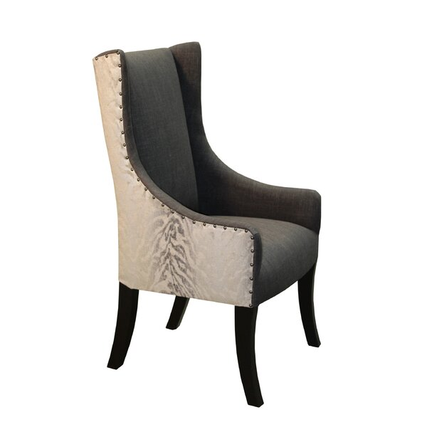 Lago Upholstered Dining Chair by Bloomsbury Market
