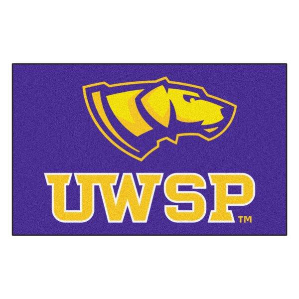 Collegiate NCAA University Of Wisconsin-Stevens Point Doormat by FANMATS