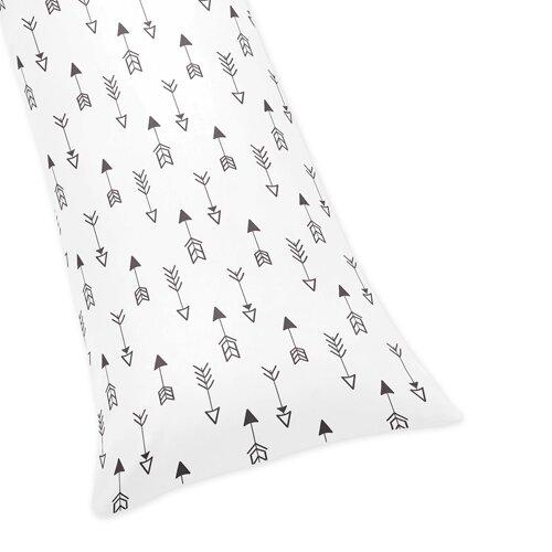 Fox Arrow Print Body Pillow Case by Sweet Jojo Designs