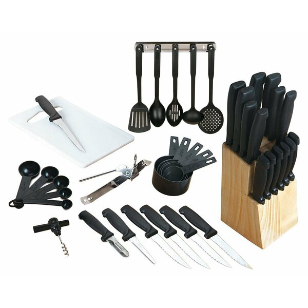 41 Piece Knife Set by Imperial Home