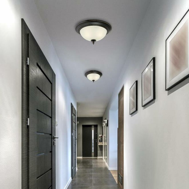 Harwell 2 Light Flush Mount