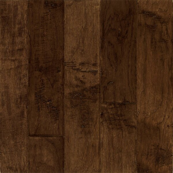 Frontier 5 Engineered Hickory Hardwood Flooring in Bison by Armstrong Flooring