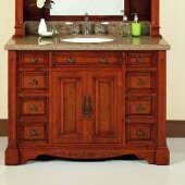 48 Single Bathroom Vanity Set by Lanza