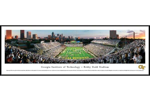 NCAA Georgia Tech by James Blakeway Framed Photographic Print by Blakeway Worldwide Panoramas, Inc