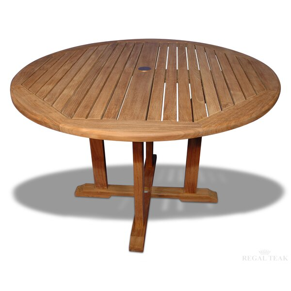 Annagrove Teak Dining Table by Longshore Tides