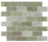 Lakeview 14 x 16 Glass Mosaic Tile in Cayman by Kellani