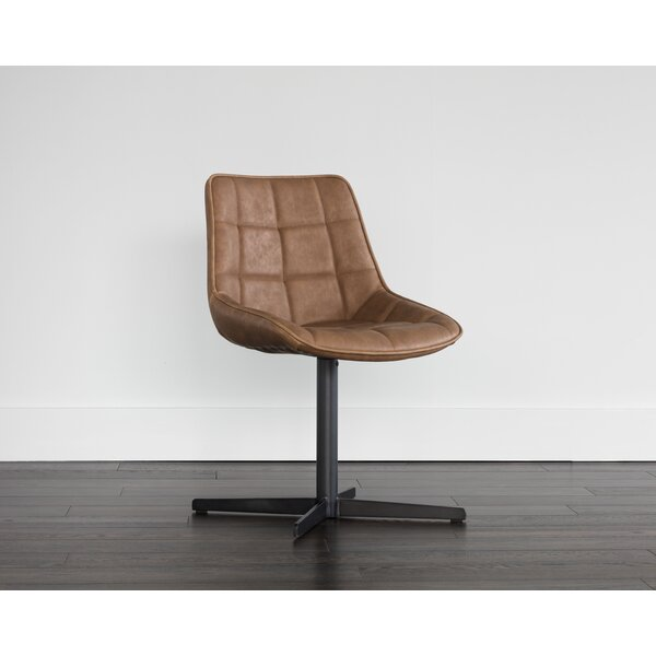 Obryan Swivel Upholstered Dining Chair by Foundry Select